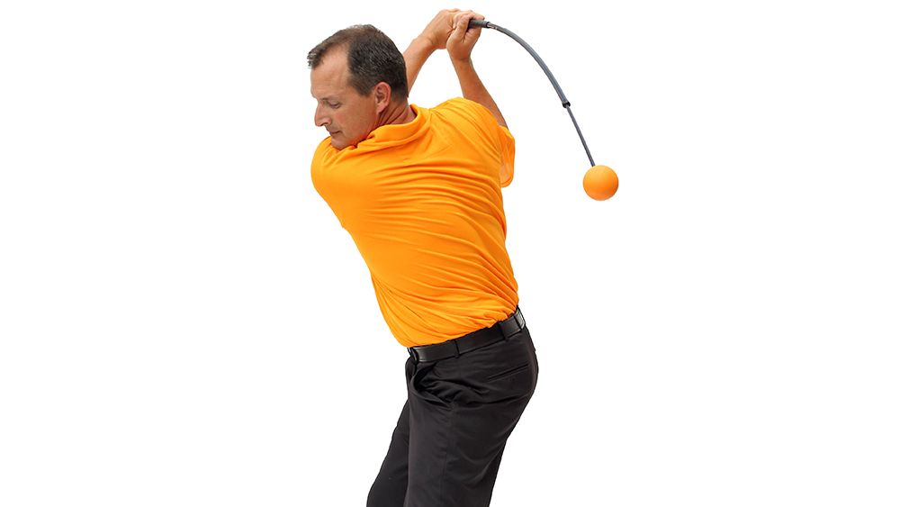The Orange Whip Best Warm up Tool for Golf
